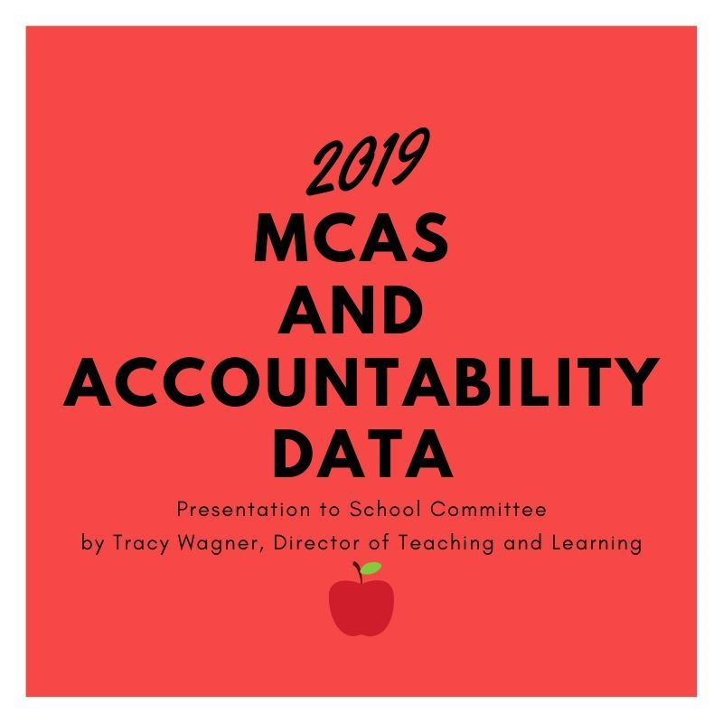 MCAS Data and Accountability Presentation