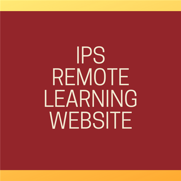IPS Remote Learning Website